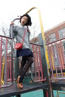 Saturday Style File – Schoolyard Separates vegan chao fashion anne klein