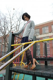 Saturday Style File – Schoolyard Separates vegan chao fashion knit sweater