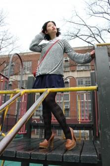 Saturday Style File – Schoolyard Separates vegan chao fashion
