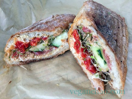 The Picnic Basket nyc veggie sandwich