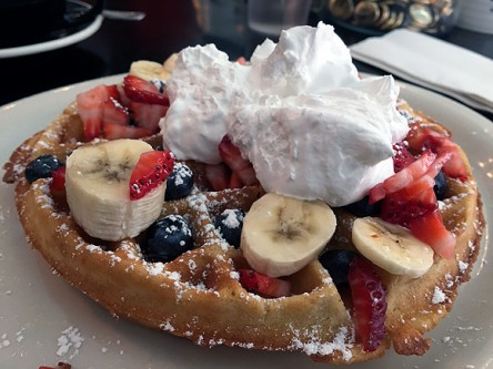 champs diner nyc brooklyn vegan meserole street belgian waffle