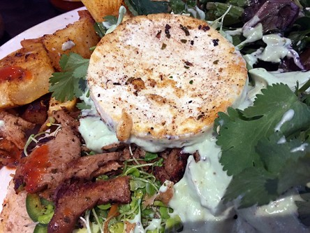 champs diner nyc brooklyn vegan meserole street eggs benedict close