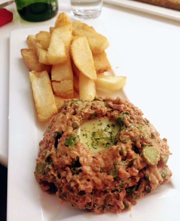 delice sarrassin vegan Steak Frites infusées à la Truffe Blanche